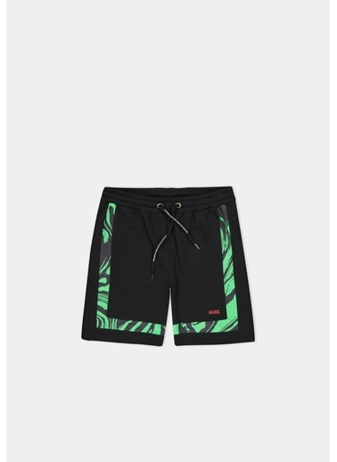 Huxel MUO005212 Glam Street Yeşil Parça Siyah